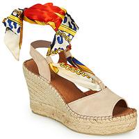 Shoes Women Sandals Fericelli SERRAJE Beige