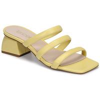 Shoes Women Mules Fericelli TIBET Yellow