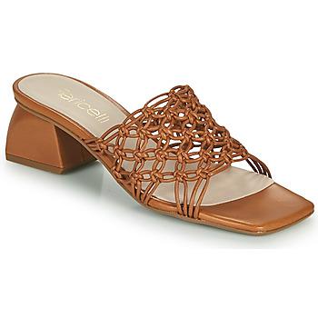 Shoes Women Mules Fericelli TELIA Camel