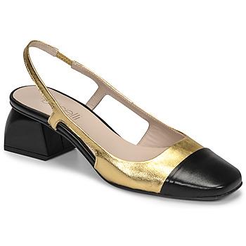 Shoes Women Heels Fericelli TOUBET Gold / Black
