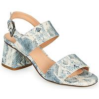Shoes Women Sandals Fericelli MARRAK Blue