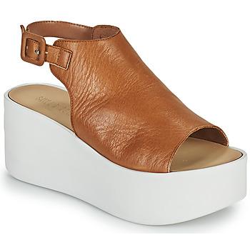 Shoes Women Sandals Sweet Lemon PYTON Brown