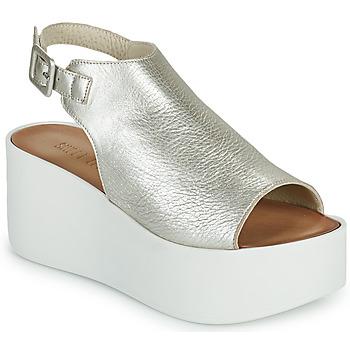 Shoes Women Sandals Sweet Lemon PYTON Silver