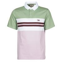Clothing Men Long-sleeved polo shirts Levi's FRESH STRIPE LAVENDER FROST Purple