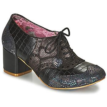 Shoes Women Derby Shoes Irregular Choice Clara Bow  black