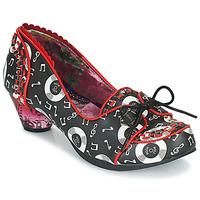 Shoes Women Heels Irregular Choice Rocktina  black