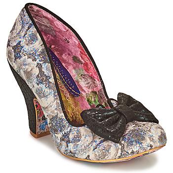 Shoes Women Heels Irregular Choice Nick of Time  black / White