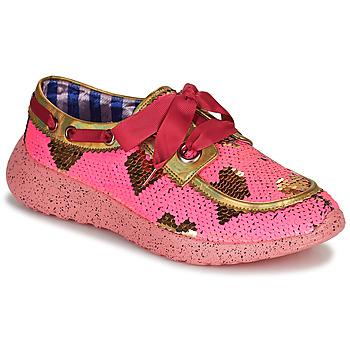 Shoes Women Low top trainers Irregular Choice Skylar Pink