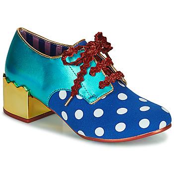 Shoes Women Derby Shoes Irregular Choice Victoria Sponge Blue