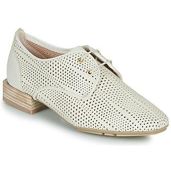Shoes Women Derby Shoes Hispanitas ELY Beige