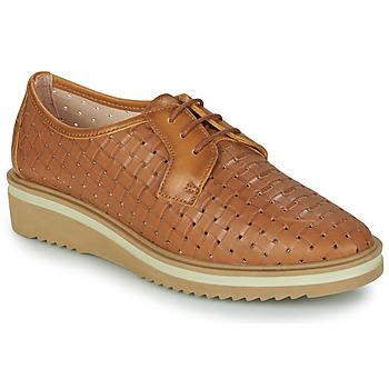 Shoes Women Derby Shoes Hispanitas NICOLE Brown