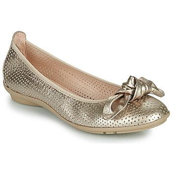 Shoes Women Flat shoes Hispanitas CAPRI Gold