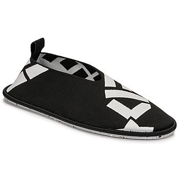 Shoes Women Flat shoes Kenzo K-KNIT SLIP-ON RECYCLED KNIT Black