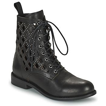 Shoes Women Mid boots Mimmu MONTONE NEROA Black
