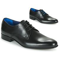 Shoes Men Derby Shoes Azzaro CRISTAN Black