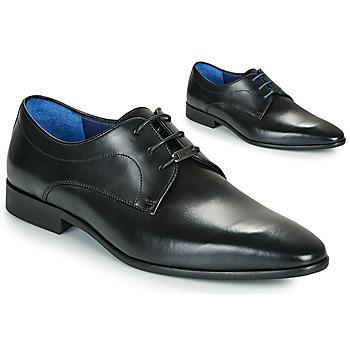 Shoes Men Derby Shoes Azzaro VILLAGE Black