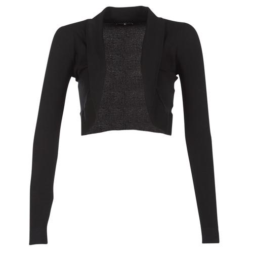 Clothing Women Jackets / Cardigans Morgan MOLU Black