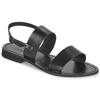 Shoes Women Sandals Dream in Green OBELLA Black