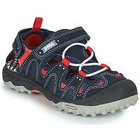 Shoes Boy Outdoor sandals Primigi ALEX Marine / Black / Red