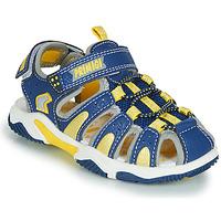 Shoes Boy Outdoor sandals Primigi ISMAEL Blue / Yellow