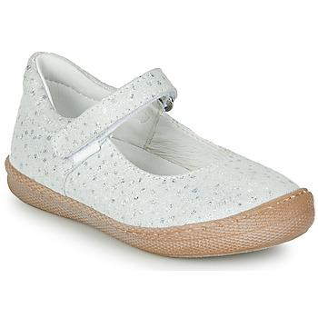 Shoes Girl Flat shoes Primigi BIANCA White / Iris