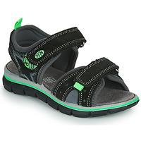 Shoes Boy Sandals Primigi NOIRA Black / Green