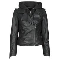 Clothing Women Leather jackets / Imitation leather Ikks BS48015-02 Black