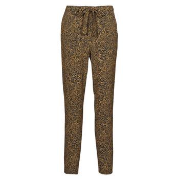 Clothing Women Wide leg / Harem trousers Ikks BS22085-75 Brown