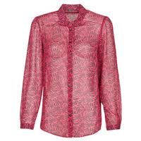 Clothing Women Shirts Ikks BS12155-38 Raspberry