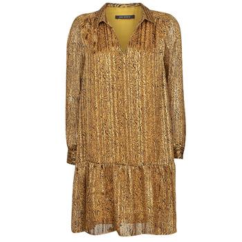 Clothing Women Short Dresses Ikks BS30195-75 Amber