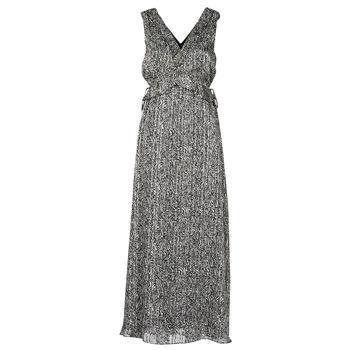 Clothing Women Long Dresses Ikks BS30265-02 Black