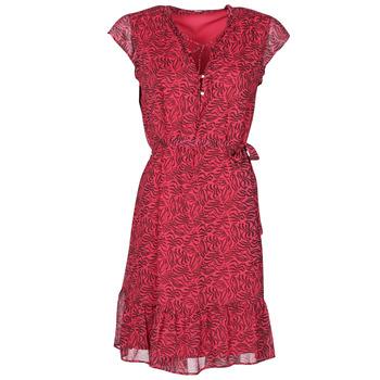 Clothing Women Short Dresses Ikks BS30355-38 Raspberry
