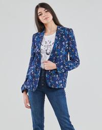 Clothing Women Jackets / Blazers Ikks BS40295-49 Marine
