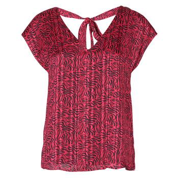 Clothing Women Tops / Blouses Ikks BS11355-38 Raspberry