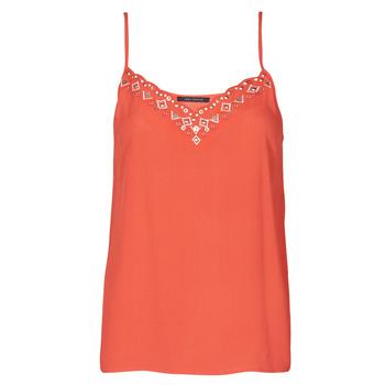 Clothing Women Tops / Sleeveless T-shirts Ikks BS11195-36 Red