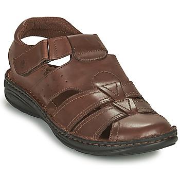 Shoes Men Sandals Casual Attitude ODOUNE Brown