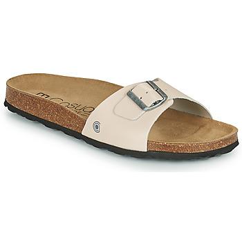 Shoes Men Mules Casual Attitude OMIU Taupe