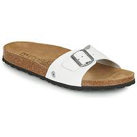Shoes Men Mules Casual Attitude OMI White