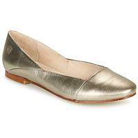 Shoes Women Flat shoes Casual Attitude TOBALO Bronze