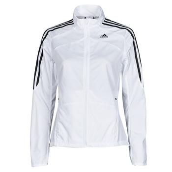 Clothing Women Track tops adidas Performance MARATHON JKT W White