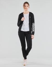 Clothing Women Tracksuits adidas Performance W LIN FT TS Black