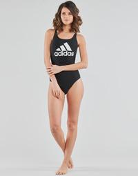 Clothing Women Swimsuits adidas Performance SH3.RO BOS S Black