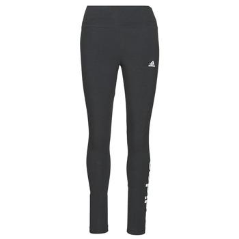 Clothing Women Leggings adidas Performance W LIN LEG Black