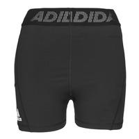 Clothing Women Shorts / Bermudas adidas Performance TF SHRT 3 BAR T Black