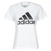 Clothing Women Short-sleeved t-shirts adidas Performance W BL T White
