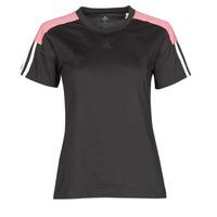 Clothing Women Short-sleeved t-shirts adidas Performance W CB LIN T Black