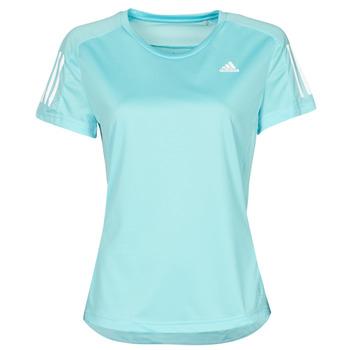 Clothing Women Short-sleeved t-shirts adidas Performance OWN THE RUN TEE Blue