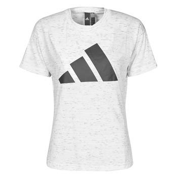 Clothing Women Short-sleeved t-shirts adidas Performance W WIN 2.0 TEE White