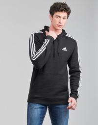 Clothing Men Sweaters adidas Performance M 3S FL HD Black