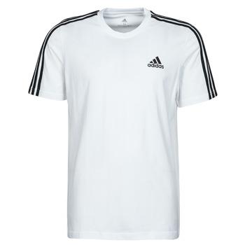 Clothing Men Short-sleeved t-shirts adidas Performance M 3S SJ T White
